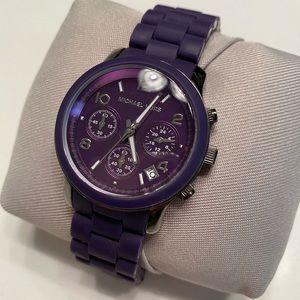Purple MK watch